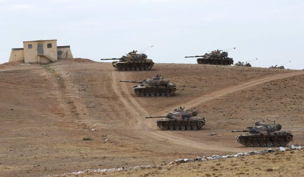 """Turkish parliament to consider """"buffer zone"""" against ISIS"""
