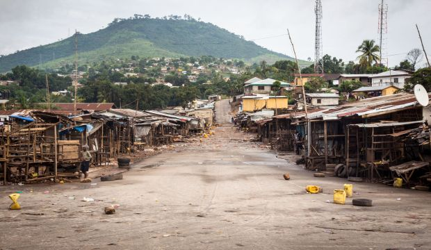 Sierra Leone capital at standstill as Ebola lockdown begins