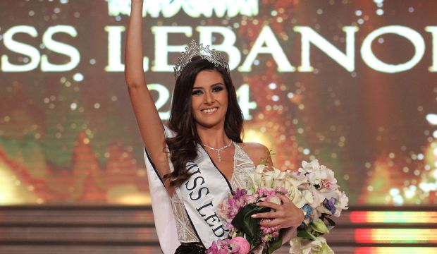 Sally Greige crowned Miss Lebanon 2014