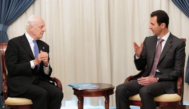 Syria's Assad says he'll study UN ceasefire offer