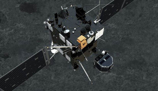 European probe lands on comet, but fails to anchor down