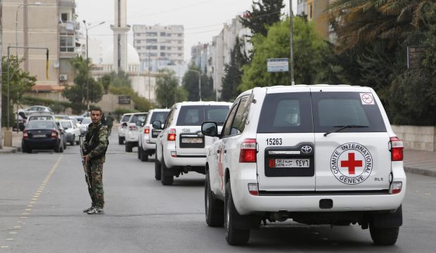 Syria: Activists accuse Red Cross of ignoring opposition-controlled areas