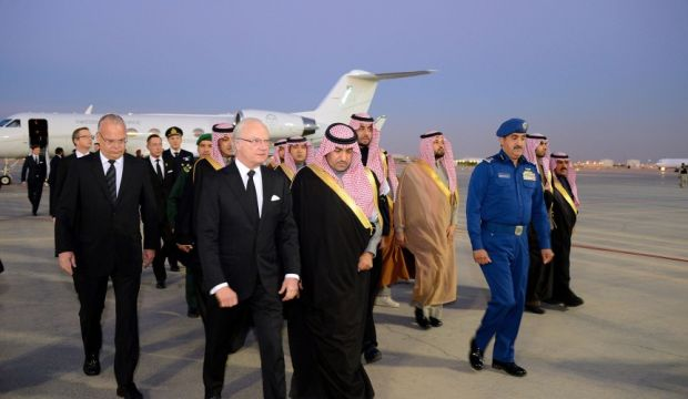 Swedish King moves to contain diplomatic rift with Saudi Arabia