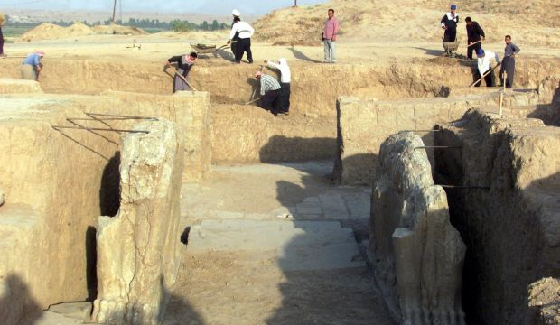 ISIS militants bulldoze ancient Nimrud city