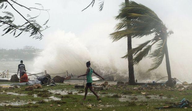Huge Pacific cyclone devastates Vanuatu, at least eight dead