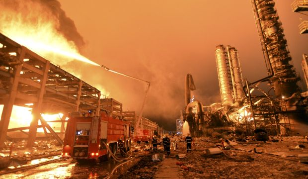 Blast at chemical plant in China injures at least 6
