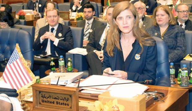 Samantha Power:  Assad's backers need to be serious about perusing a political solution