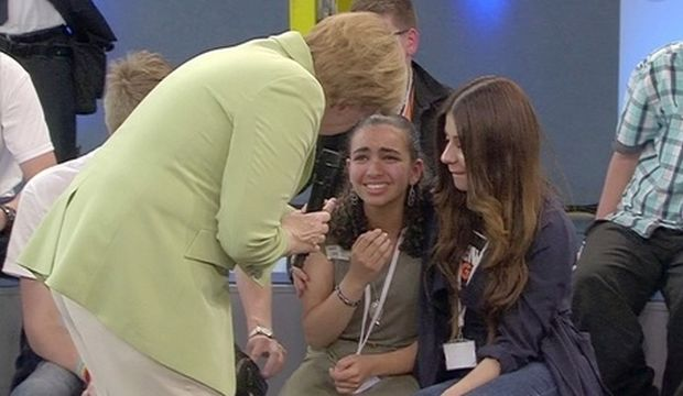 Opinion: The Palestinian Girl Who Moved Merkel