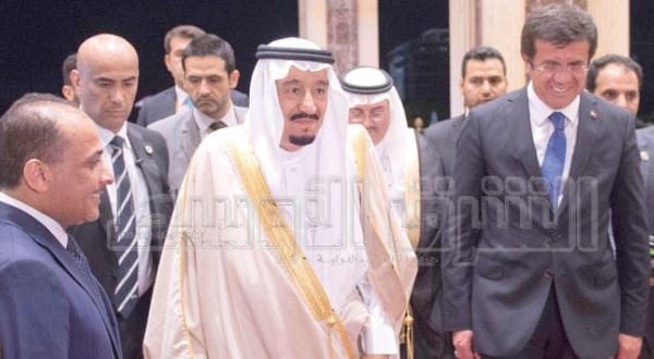 The Custodian of the Two Holy Mosques Arrives in Antalya Leading the Saudi Delegation Participating in the G-20 Summit