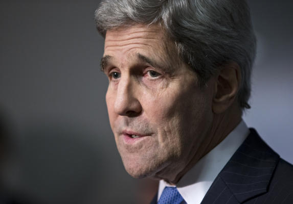 Opinion: OBAMA'S MIDEAST POLICY: AN OBITUARY BY JOHN KERRY