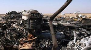 Remains of the Russian Plane