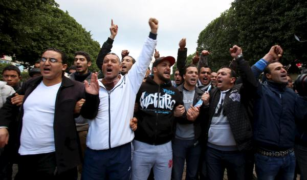 Tunisian Police Protest Over Pay in New Test for Government
