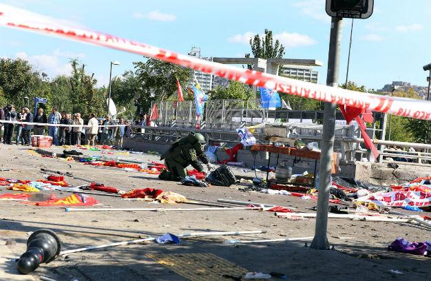 Syrian Suicide Bomber behind Explosion in Turkey