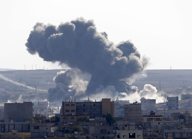US, Allies Launch 23 air strikes in Iraq, Three in Syria against IS