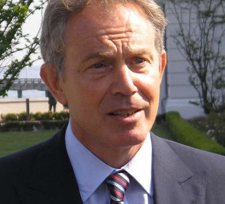 Blair Urged Gadhafi to Find 'Safe Place': Transcripts