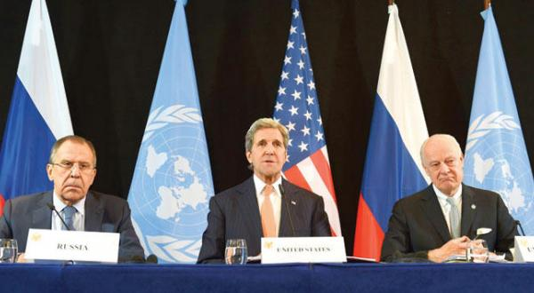 World Powers Agreed on Cessation of Hostilities at Munich Talks