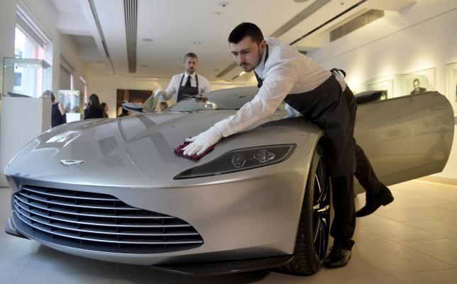 James Bond's 'Spectre' Aston Martin Sells for $3.5 Million