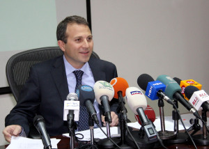 Lebanese Ministers against Bassil's Stance