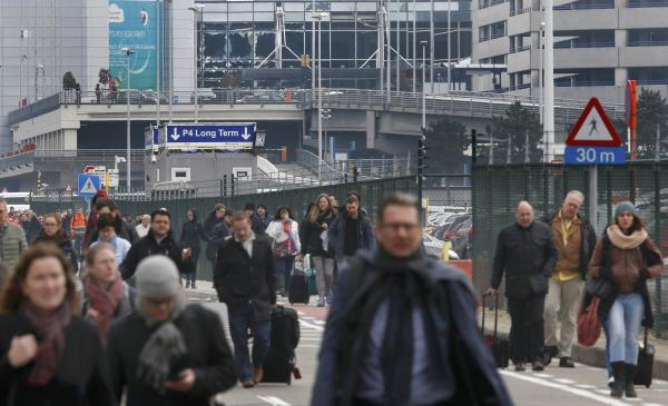 Explosions Hit Brussels Airport, at Least 13 Dead