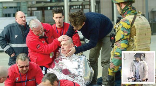 Terrorism Paralyses Brussels