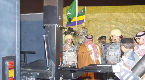 Crown Prince Patronizes Deluge 6 Exercise