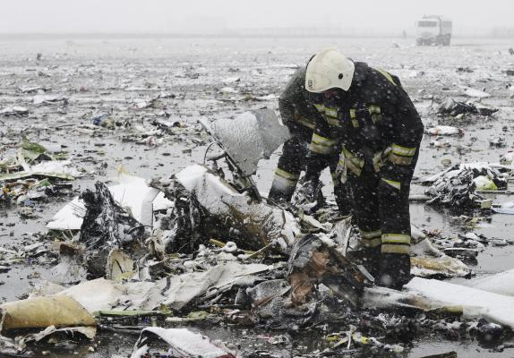 Dubai Airlines Crashes in Russia, All 62 on Board Killed