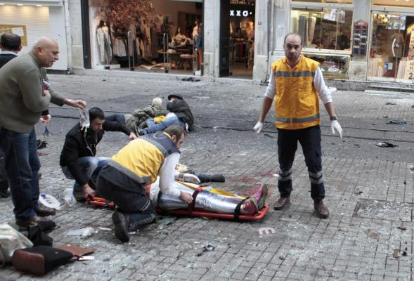 Five killed in Suicide Bombing in Istanbul