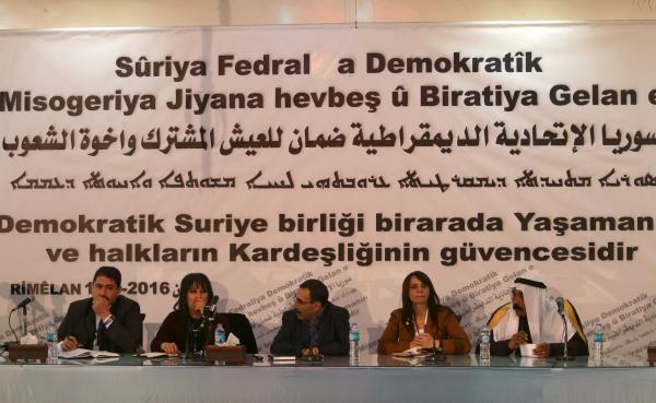 Syria's Kurdish-Controlled Regions Approve Federal System