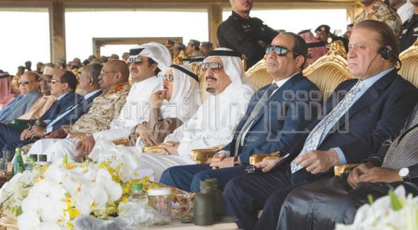 "The Saudi Message: Operation ""North Thunder"" Simulates Real War"