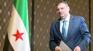 Riad Hijab, leader of Syria's opposition High Negotiations Committee (HNC)