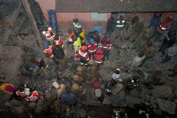 The Death Toll of Nairobi's Collapsed Building has Risen