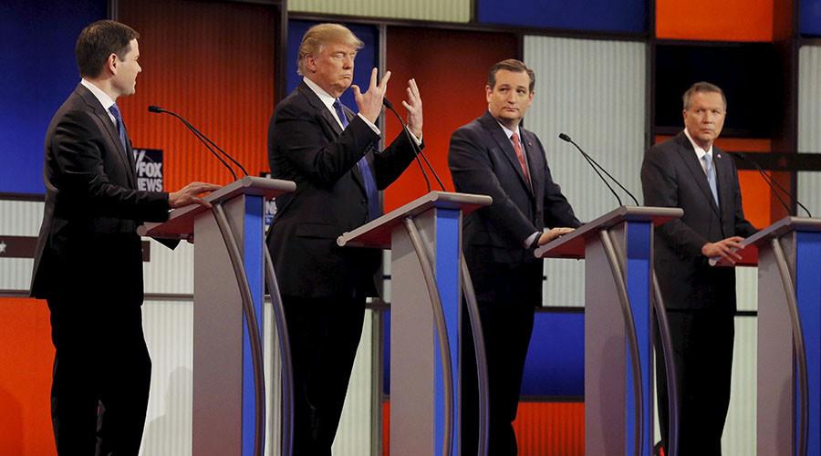 Trump, Cruz, Kasich Seek Triumph over Republican Leaders at Party Meeting