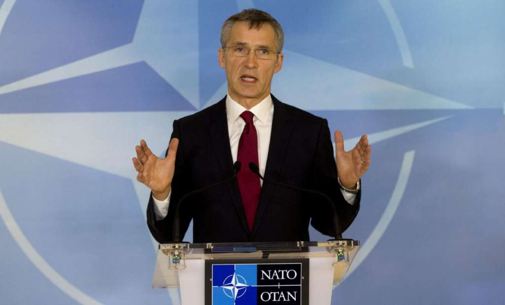 Stoltenberg: NATO 'Absolutely Confident' Trump Committed to Alliance