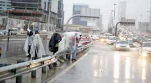 Floods across Riyadh, March 12, Asharq Al Awsat