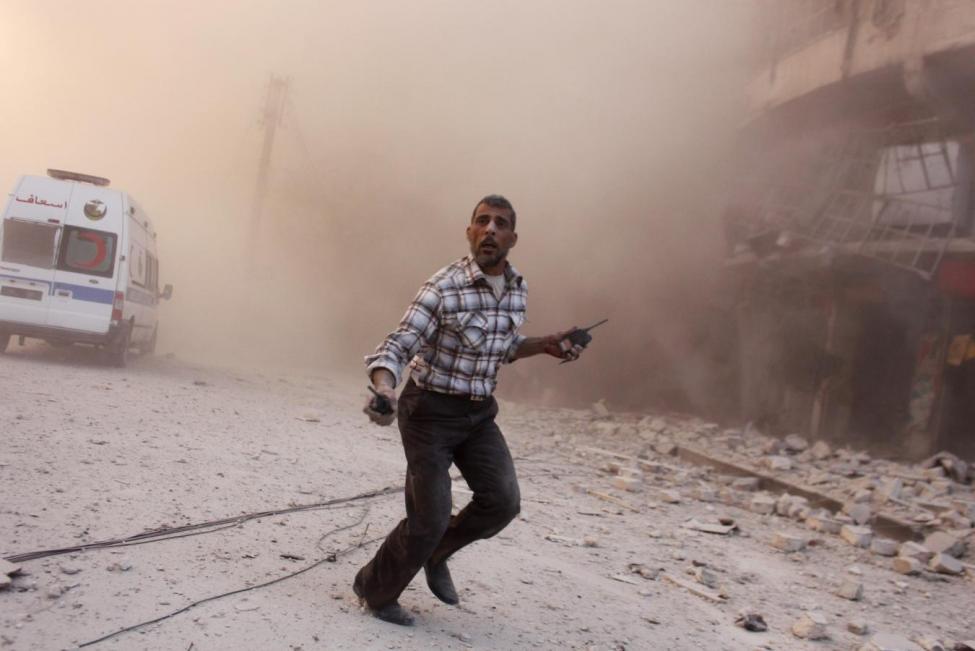 Syrian Army and Allies Strike South of Aleppo