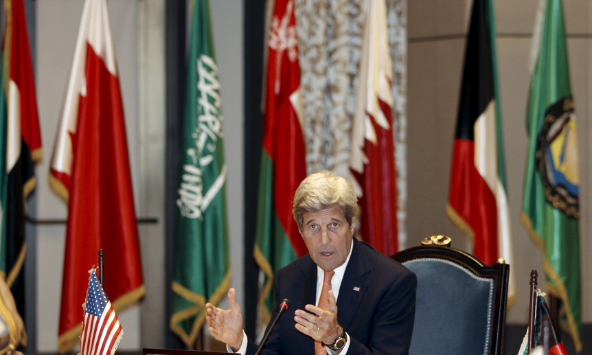 Kerry to Iran: Pressure Assad to Secure a Political Solution
