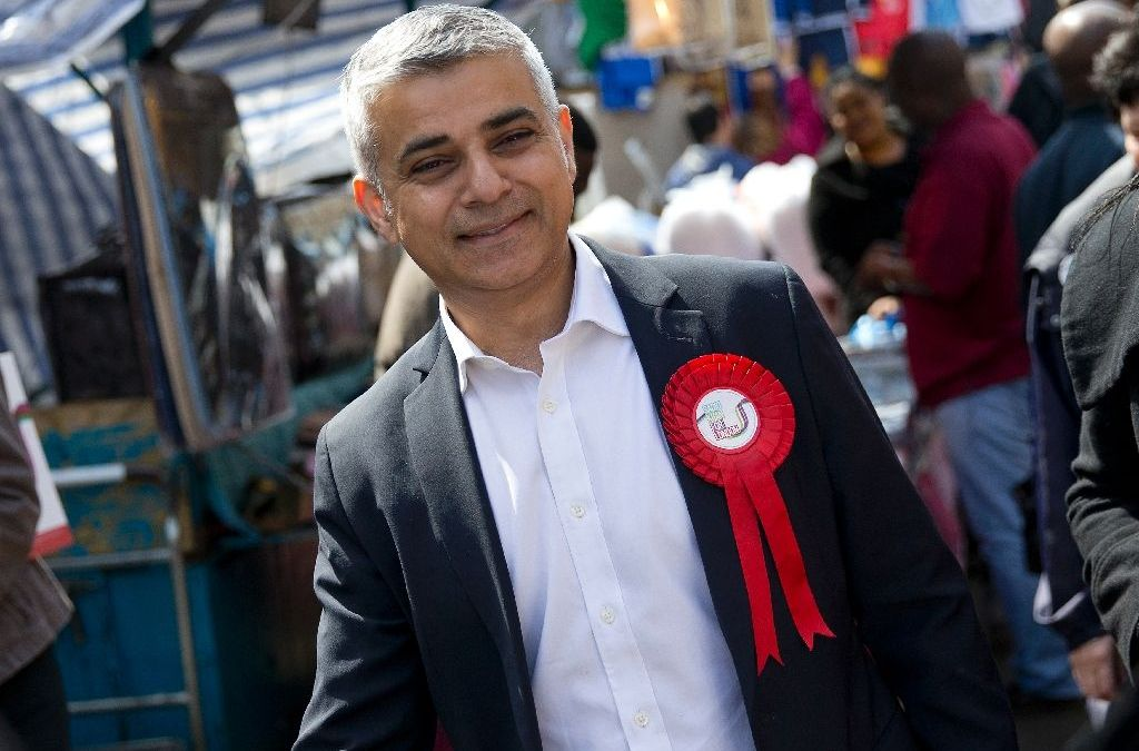 Sadiq Khan, First Muslim to Become London's Mayor