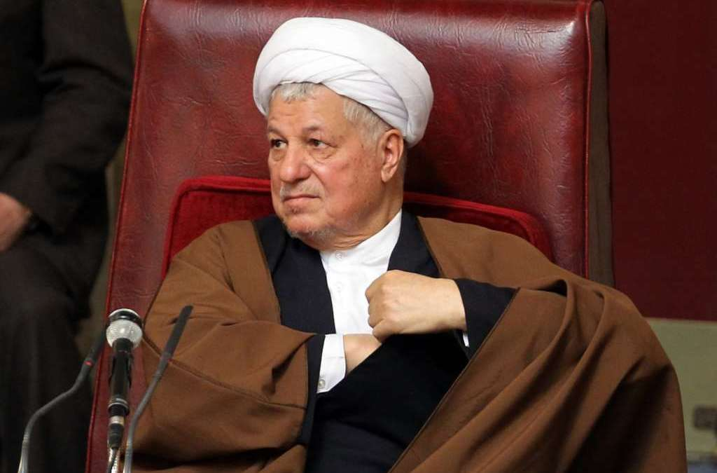 Rafsanjani Admits Iran's Involvement in Region's Crises