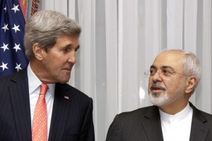 U.S. Secretary of State John Kerry and Iranian Minister of Foreign Affairs Zarif, Reuters