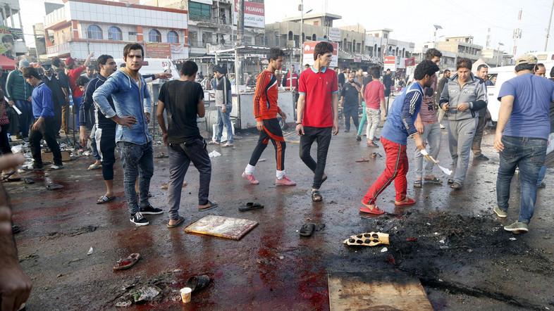 Scores Dead in Baghdad Bombings