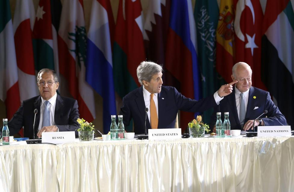 World and Regional Powers Set Immediate, Modest Syria Goals