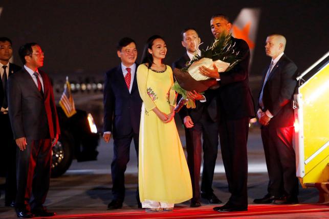 President Barack Obama Arrives in Vietnam to Turn Old Foe into New Partner