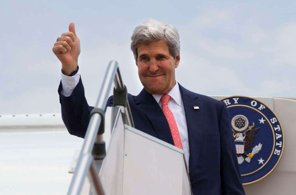 French Sources: Kerry will Participate in Meeting of States Backing Syria Opposition