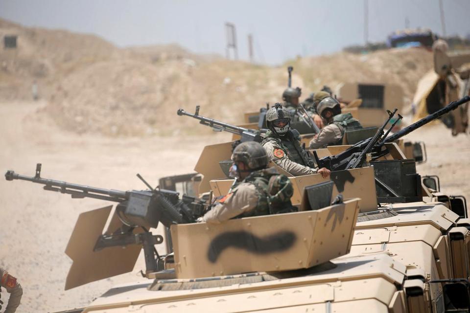 U.S.-led Coalition Kills ISIS Leader in Fallujah as Hundreds Flee