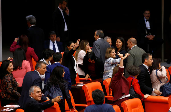 Turkish Parliament Approves Bill Stripping MPs' Immunity
