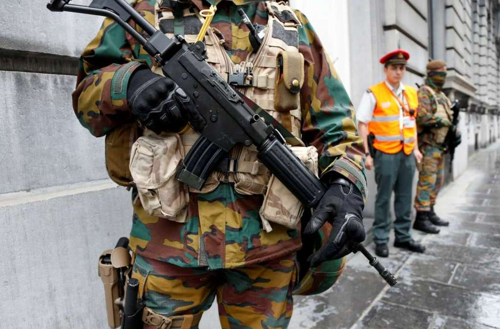 Train Station Evacuated in Brussels amid Heightened Security Measures