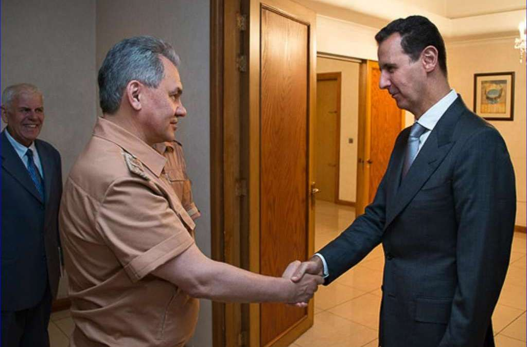 Shoigu to Damascus with Messages from Moscow