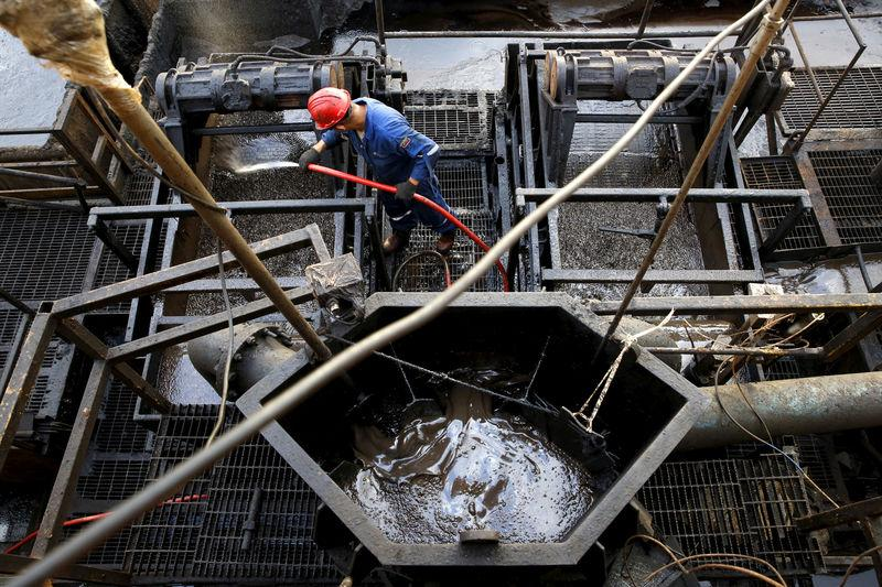 Oil Prices Edge near 2016 highs on Ebbing Supply, Softer Dollar