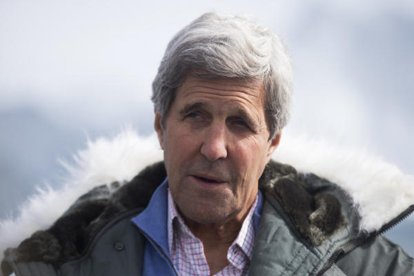 Amid Melting Arctic Ice, Kerry Sees Looming Climate Catastrophe