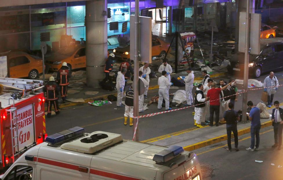 13 Detained over Airport Attack as Turkey Sees Possible Foreign ISIS Link